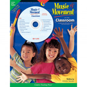 Music & Movement in the Classroom Book & CD, Grades PreK-K