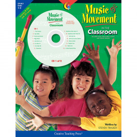 Music & Movement in the Classroom Book & CD, Grades 1-2