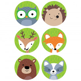 "Woodland Friends 3"" Designer Cut-Outs, 36/Pack"