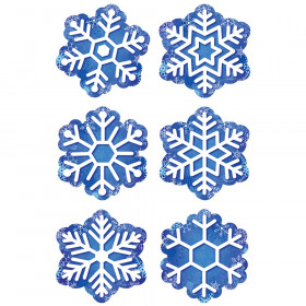 """Snowflakes 3"""" Designer Cut-Outs, 36/Pack"""