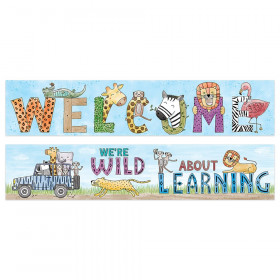 Safari Friends Welcome Banner (2-sided)