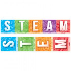 Stem/Steam 2 Sided Banner