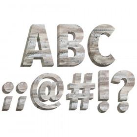 "Rustic Wood 6"" Designer Letters"