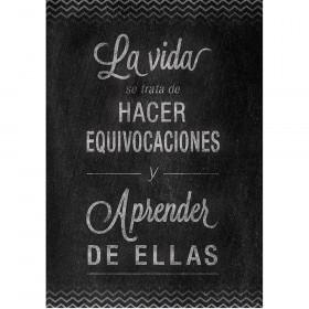 La Vida Spanish Inspire U Poster