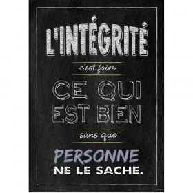 Lintegrite French Inspire U Poster