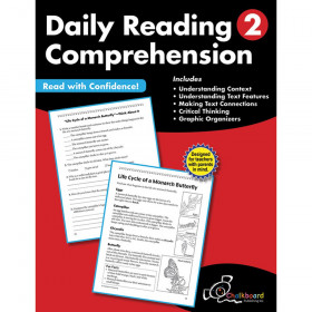 Daily Reading Comprehension Workbook, Grade 2