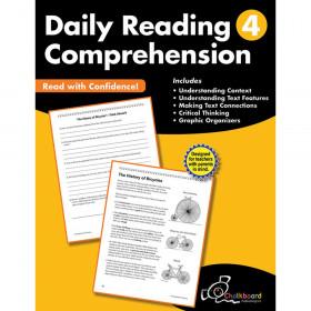 Daily Reading Comprehension Workbook, Grade 4
