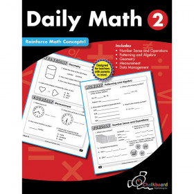 Creative Teaching Press Daily Math Workbook, Grade 2