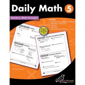 Creative Teaching Press Daily Math Workbook, Grade 5