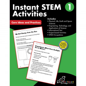 STEM Instant Activities Workbook, Grade 1