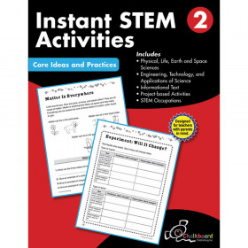 STEM Instant Activities Workbook, Grade 2