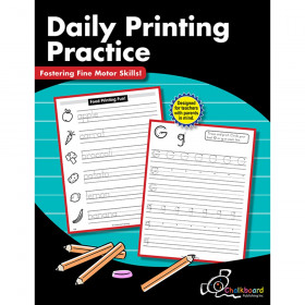 Daily Printing Practice Workbook, Grade K-2