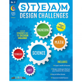 STEAM Design Challenges Resource Book, Gr. 3