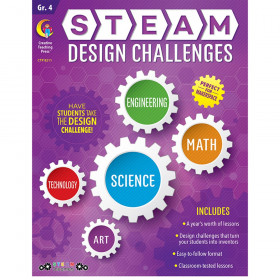 STEAM Design Challenges Resource Book, Gr. 4