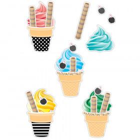 Happy Birthday Ice Cream Cones Pcs Replacement