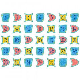 Mid-Century Mod Calendar Days