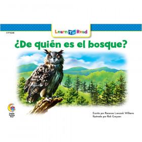 Spanish Reader: De quin es el bosque?