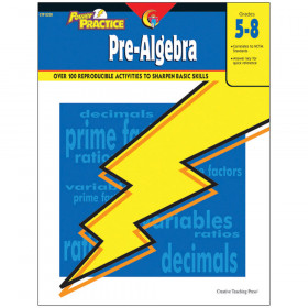 Power Practice: Pre-Algebra Grade 5-8