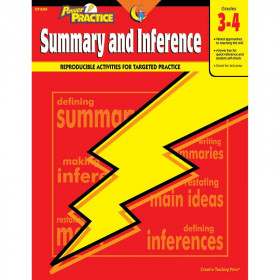 Power Practice: Summary and Inference, Gr. 3-4