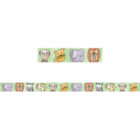 Large Safari Friends Magnetic Strip Decor