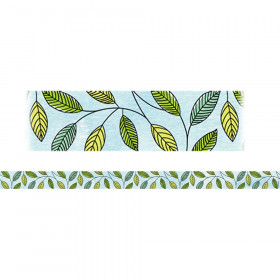 Large Safari Leaves Magnetic Strips Safari Friends Decor