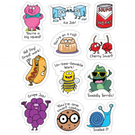 So Much Pun Punny Rewards Stickers