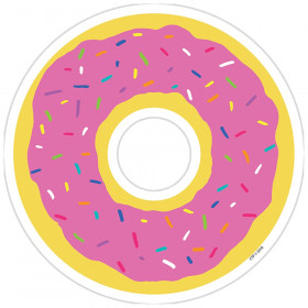 Donut 6In Designer Cut-Outs So Much Pun