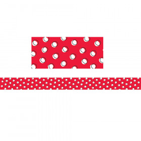 So Much Pun Doodle Dots On Red Brdr