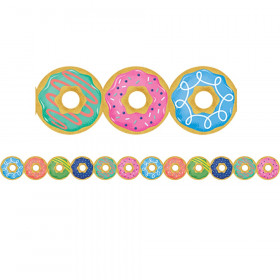 Mid Century Mod Donuts Border