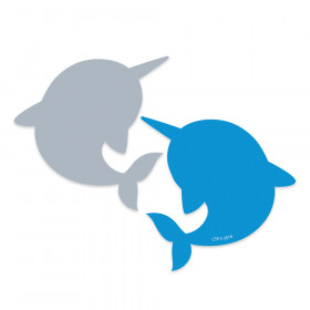 Narwhal 3 inch 2-color Cut-Outs (8530)