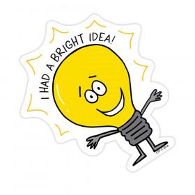 So Much Pun! Bright Idea Badge (8532)