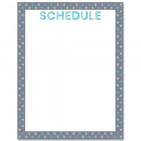Calm & Cool Schedule Chart