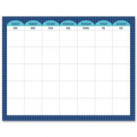 """Calm & Cool Calendar Chart, 28.5"""" x 22.25"""""""