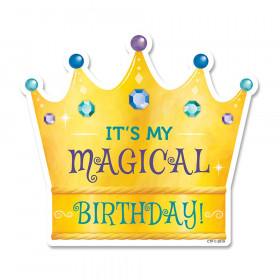 Its My Magical Bday Badge Sticker Mystical Magical