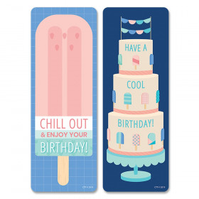 Calm & Cool Happy Bday Bookmarks