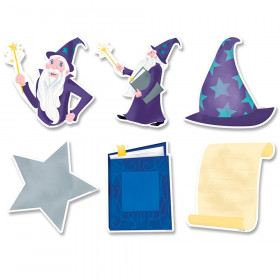 """Mystical Magical Wizardly Fun 6"""" Designer Cut-Outs, 36/Pack"""