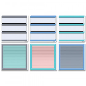 6In Designer Cutouts Letter & Light Boards Calm & Cool