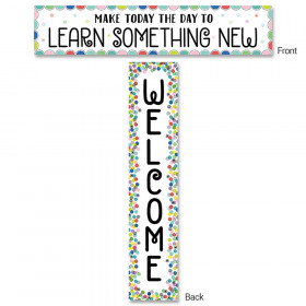 Color Pop Welcome Banner (2-sided)