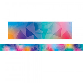 Mystical Magical Rainbow Prism Border, 35 Feet