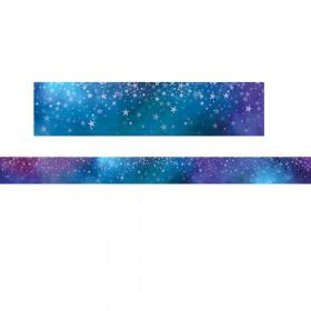 Mystical Magical Mystical Stars Border, 35 Feet