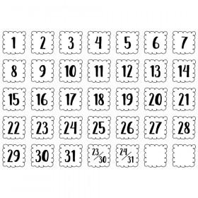 Loop-de-Loop Calendar Days, 35 Pieces