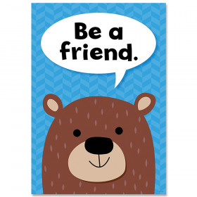 Be A Friend Woodland Friends Inspre Poster