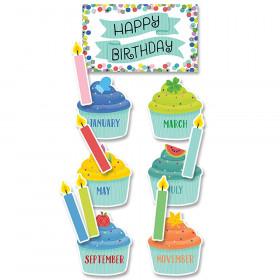 Color Pop Birthday Mini Bulletin Board