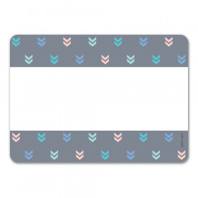 Mini Chevrons Name Tag Labels Calm & Cool Colorful