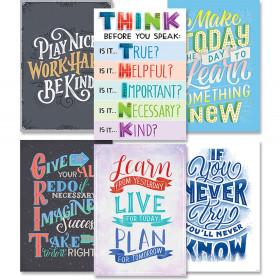 Motivational Inspire U 6-Poster Pack
