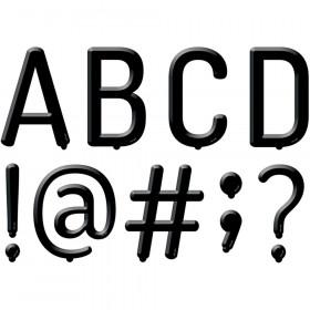 Black Letter Board Uppercase Letters