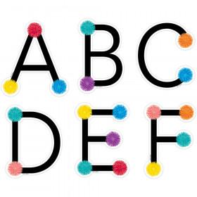 Pom Uppercase Letters