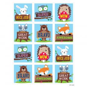 Woodland Friends Rewards Stickers, Pack of 60