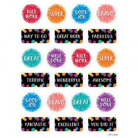 Pom-Pom Rewards Stickers, 105 Pieces