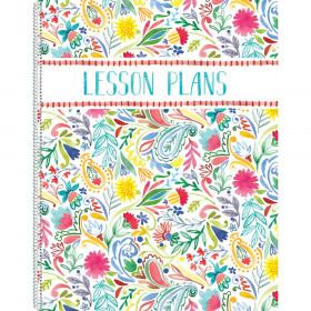 Festive Floral Lesson Plan Book